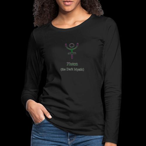 Pluton Logo - Frauen Premium Langarmshirt