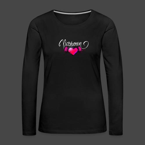 Logo and name - Women's Premium Longsleeve Shirt