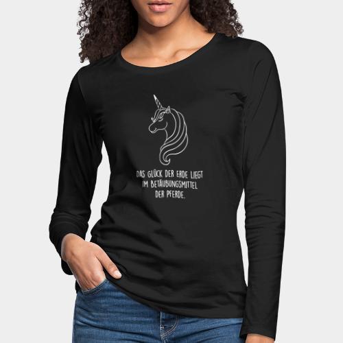 Das Glück der Erde...02 - Frauen Premium Langarmshirt