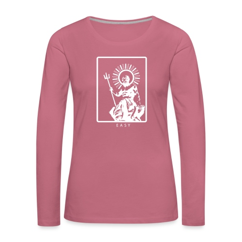 POSEIDONE - Maglietta Premium a manica lunga da donna