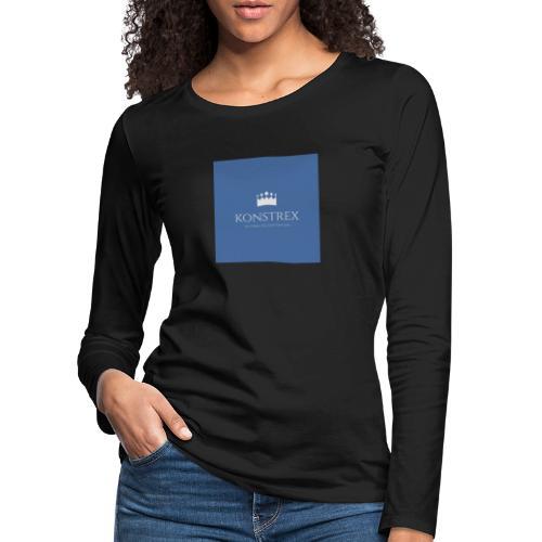 konstrex - Dame premium T-shirt med lange ærmer