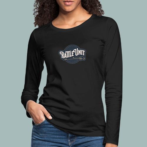 Rattle Unit - Vrouwen Premium shirt met lange mouwen