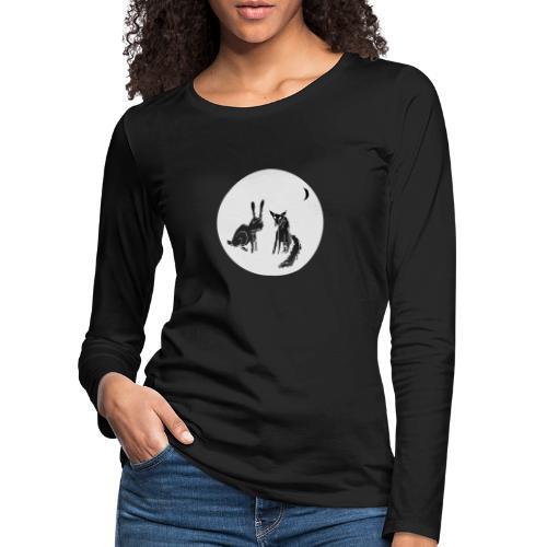 fuxundhase - Frauen Premium Langarmshirt