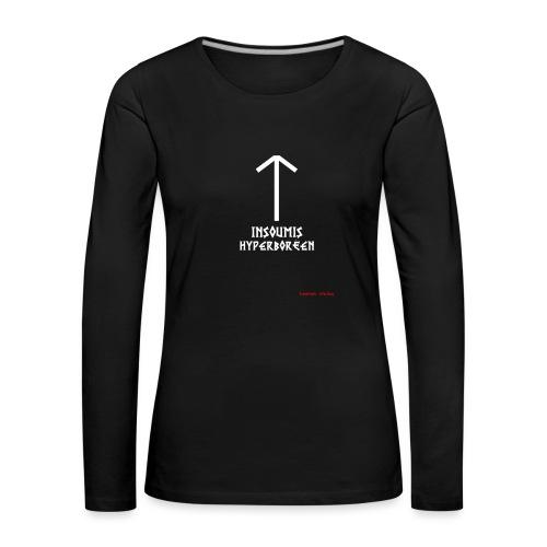 insoumisHyperboréen - T-shirt manches longues Premium Femme