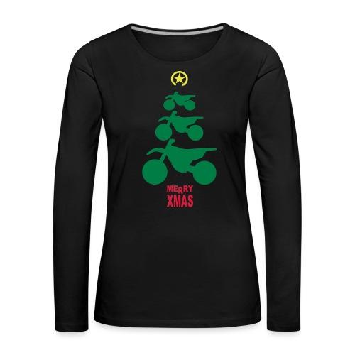 Merry Christmas - Frohe Weihnachten - Women's Premium Longsleeve Shirt