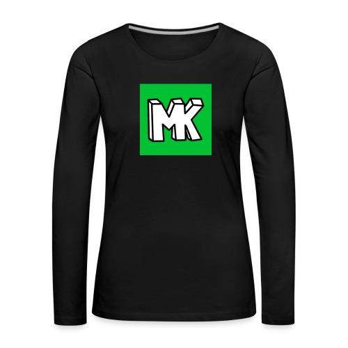 MK - Vrouwen Premium shirt met lange mouwen