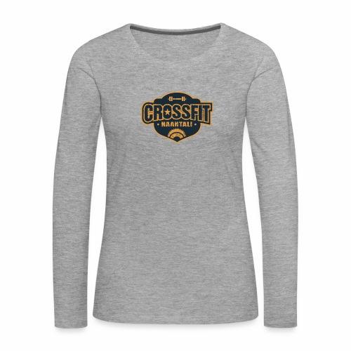 CF Naantalin Logo - Naisten premium pitkähihainen t-paita