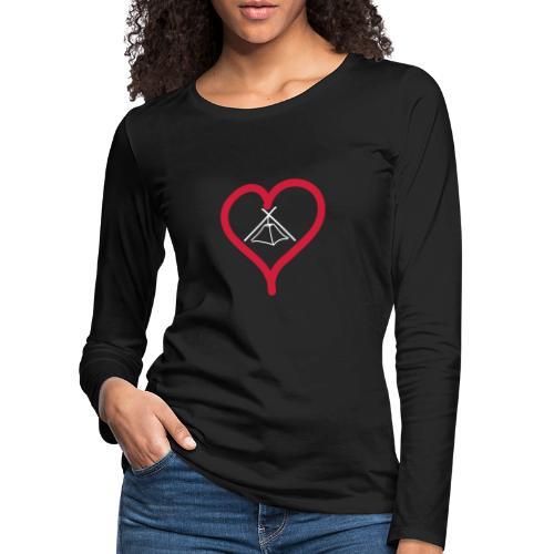 Herz Kothe - Frauen Premium Langarmshirt