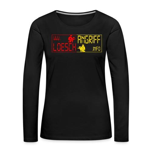 logo2014rotgelb png - Frauen Premium Langarmshirt