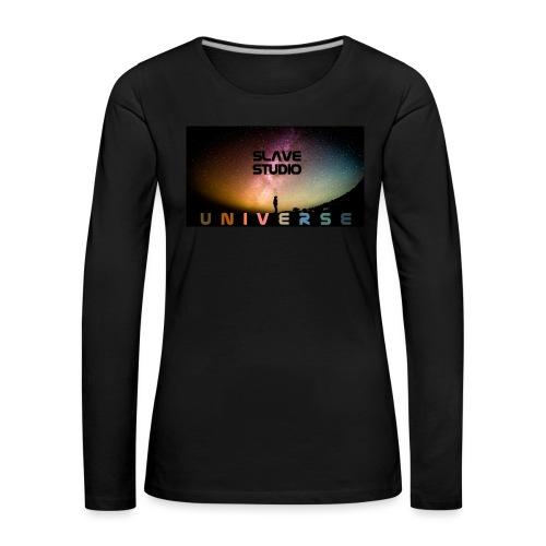 Universe - Maglietta Premium a manica lunga da donna