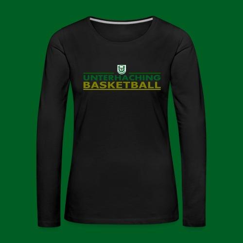 Logo45 - Frauen Premium Langarmshirt