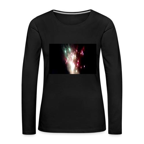 Feu D'artifice Fête Foraine Bischheim 2017 - T-shirt manches longues Premium Femme