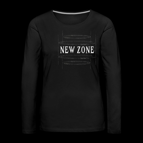 New Zone White - Women's Premium Longsleeve Shirt