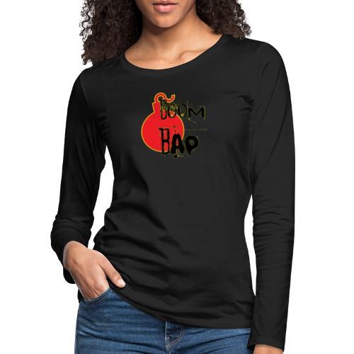 Boom Bap - Women's Premium Longsleeve Shirt
