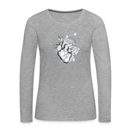 Cuore - Camiseta de manga larga premium mujer