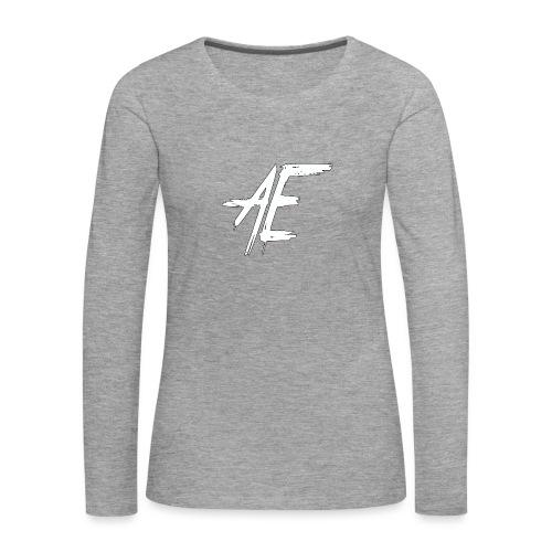 AsenovEren - Vrouwen Premium shirt met lange mouwen