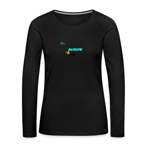 king awesome - Women's Premium Longsleeve Shirt