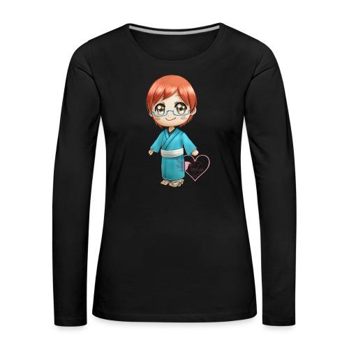 Morgan crossing - T-shirt manches longues Premium Femme