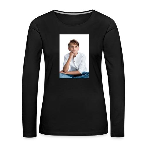 Sjonny - Vrouwen Premium shirt met lange mouwen