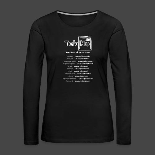 tekno23 - T-shirt manches longues Premium Femme