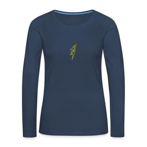 fulmine - Maglietta Premium a manica lunga da donna