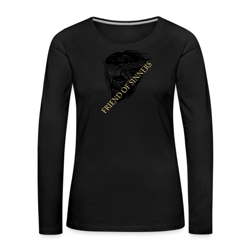 JESUS scream - Frauen Premium Langarmshirt