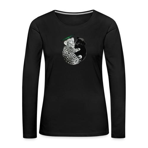 panther jaguar Limited edition - Dame premium T-shirt med lange ærmer