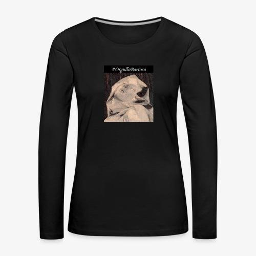 #OrgulloBarroco Teresa dibujo - Camiseta de manga larga premium mujer