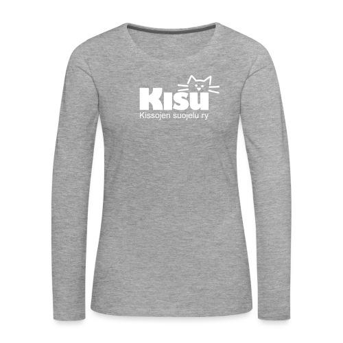 kisulogo - Naisten premium pitkähihainen t-paita