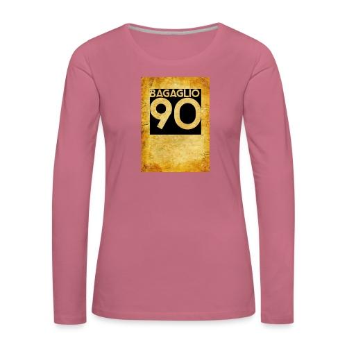 Anni 90 - Maglietta Premium a manica lunga da donna