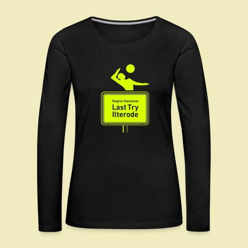 Last Try Ilterode 2012 - Frauen Premium Langarmshirt
