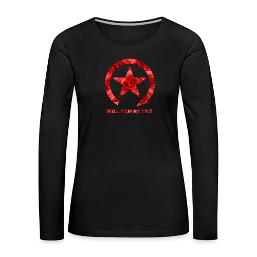 KILL SWITCH Logo Roses 9KS04 - Women's Premium Longsleeve Shirt