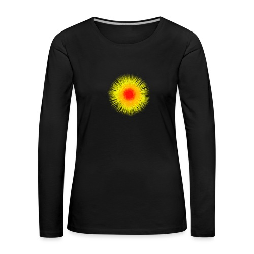 Sonne I - Frauen Premium Langarmshirt