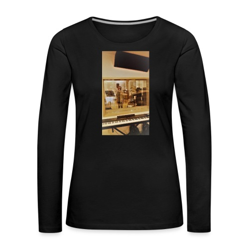 fan de caro - T-shirt manches longues Premium Femme