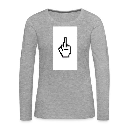 Screenshot 2016 10 25 14 22 26a - T-shirt manches longues Premium Femme