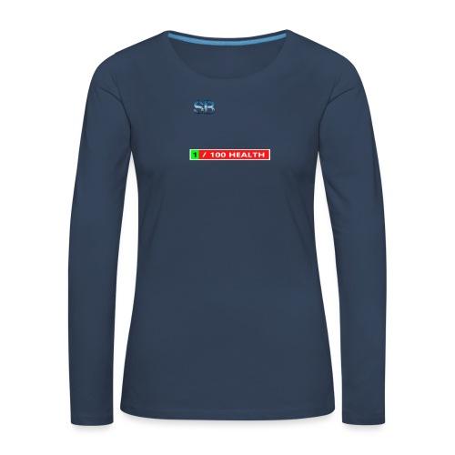 Health Tee Oh Shiiet! - Dame premium T-shirt med lange ærmer