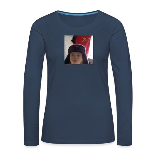 Kommunisti Saska - Naisten premium pitkähihainen t-paita