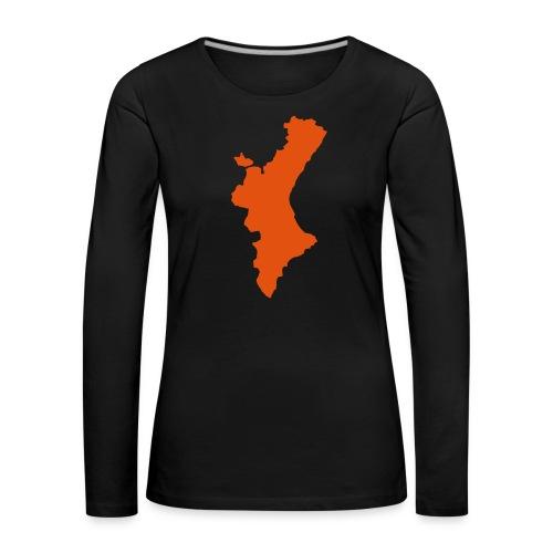 València - Camiseta de manga larga premium mujer