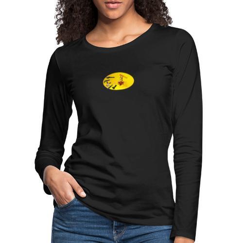 CROW MEME - Frauen Premium Langarmshirt