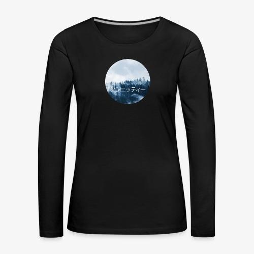 Serenity - Långärmad premium-T-shirt dam