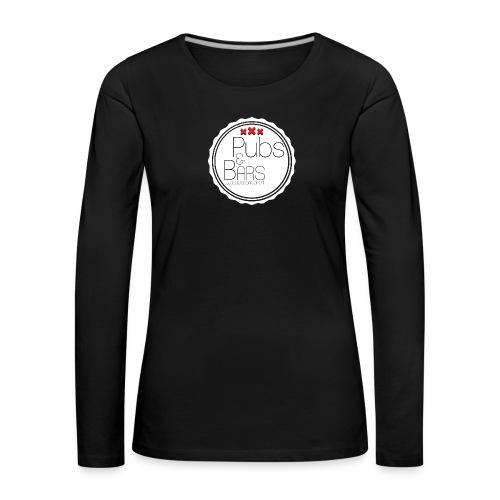 PubsnBars - Vrouwen Premium shirt met lange mouwen