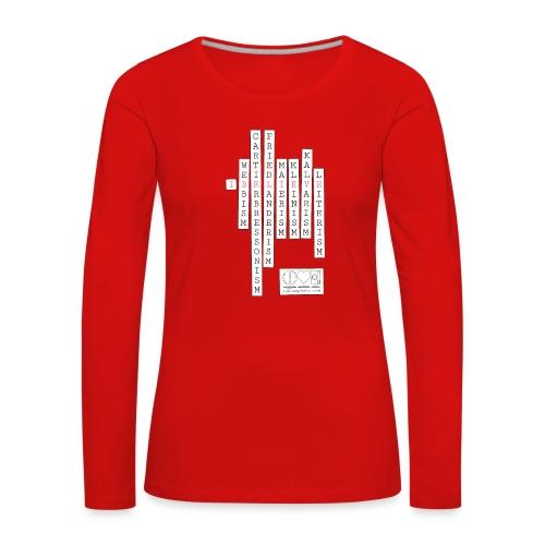 CAMISETA I BELIEVE - Camiseta de manga larga premium mujer