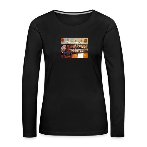 Cpr 2934 - Dame premium T-shirt med lange ærmer