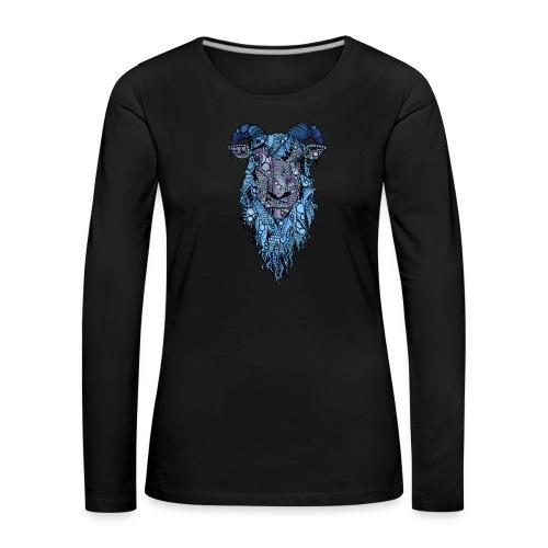 Sau - Premium langermet T-skjorte for kvinner
