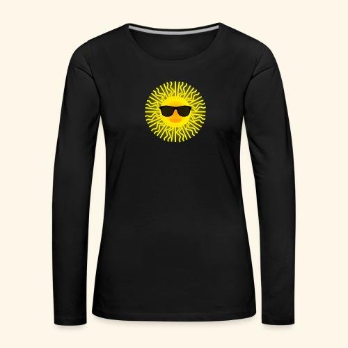 Sol de Canarias - Camiseta de manga larga premium mujer