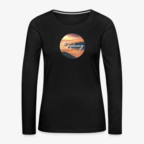 Epiphany - Långärmad premium-T-shirt dam