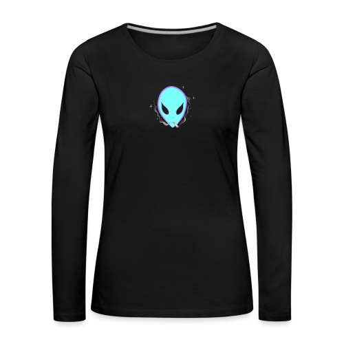 People alienate me. I'm out of this world - Women's Premium Longsleeve Shirt
