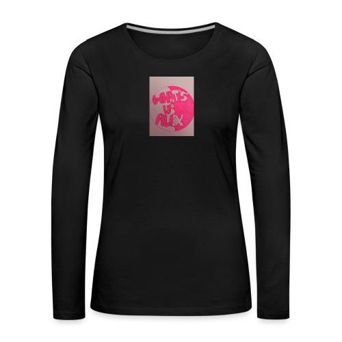 Alex bell - Women's Premium Longsleeve Shirt