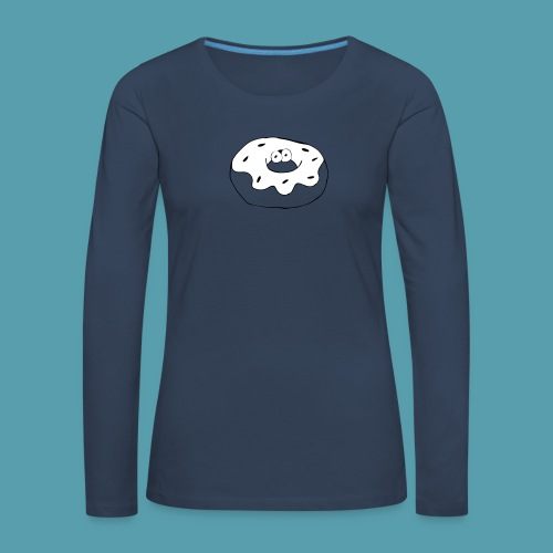 Donitsi - Naisten premium pitkähihainen t-paita