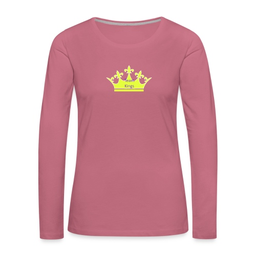 Team King Crown - Women's Premium Longsleeve Shirt